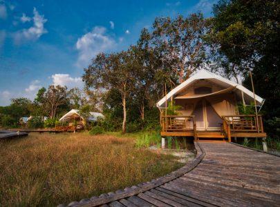 Kambodscha_Cardamom Zeltlager