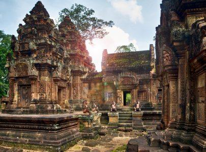Kambodscha_Banteay Srei Tempel