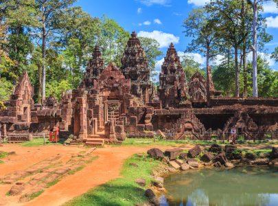 Kambodscha-Banteay Srei Tempel