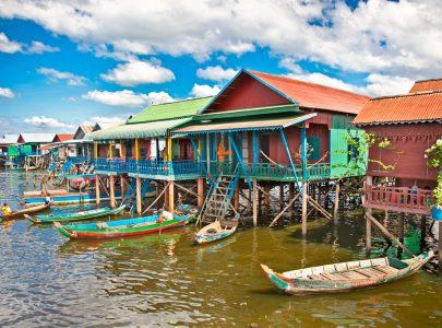 Kambodscha-Tonle Sap See
