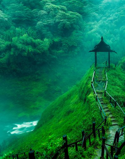 Laos-Wasserfall