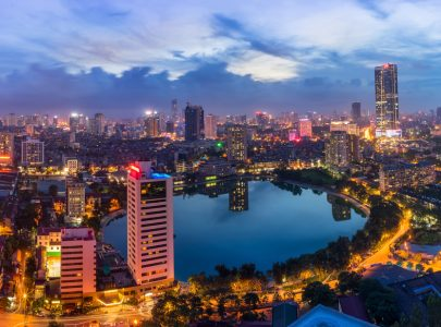 Vietnam-Hanoi-Skyline