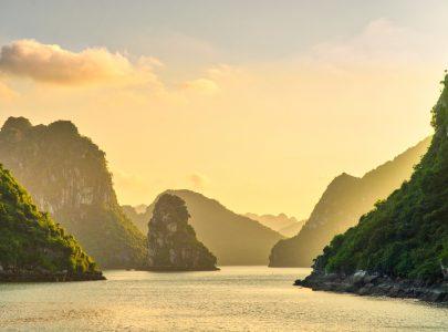 Vietnam-Halong Bucht