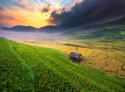 Vietnam-Song Chay Berge