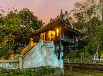 Vietnam-Hanoi Pagode