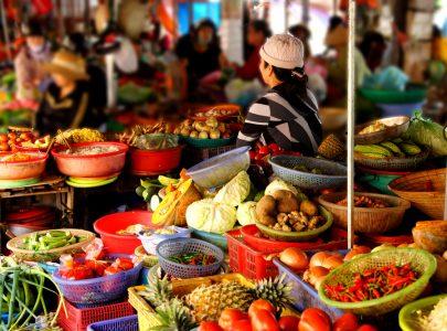 Vietnam-Hanoi Markt
